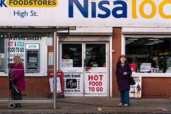 Nisa Local (stevedexteruk) Tags: highstreet swansea wales shop store nisa busstop busshelter waiting 2020 atm rijo