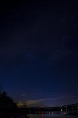 Wayfarer (Rob Loftus Photo) Tags: longexposure canoneosrebelt3i canon stars hudsonriver newyork