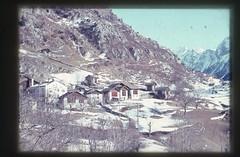 . (Kaïopai°) Tags: vintage dorf bergdorf ville alpen schneereste schnee snow winter montains gebirge dia