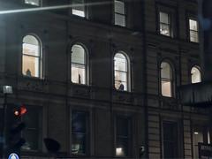 Executive at night (sixthland) Tags: arch nightphotography window rx100m2 flare luminar4 blipfoto