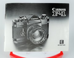 Canon F-1 Instruction Book - 1978 Edition (http://www.yashicasailorboy.com) Tags: canonf1 canon camera instructions book japan f1 slr 35mm photography