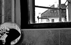 Prague December 2019 (scatman otis) Tags: prague czechrepublic cities europe blackandwhite bw windows monochrome
