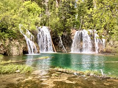 Hiking at Hanging Lake (wjaachau) Tags: scenery scenic mountain glenwoodsprings colorado adventure hikingtrail hiking tranquility serenity gogreen greenspace outdoor park lake nature landscape hanginglake