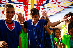 Férias no parque - Brincadeiras molhadas (Prefeitura de Franco) Tags: crianca alegria ferias fériasnoparque diversao água colorido sol parquebeneditodemoraes parquemunicipal