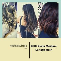 GHD CURLS FOR MEDIUM LENGTH HAIR (yourhairstyler) Tags: ghd curls hair for medium length