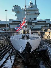 HMS M.33 - Portsmouth Historic Dockyard - UK (phil_king) Tags: ship boat hms m33 ww1 portsmouth historic dockyard royal navy history maritime hampshire england uk prince wales aircraft carrier