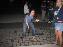 487213800QzDzOD_fs (Zappacity) Tags: semibarefoot brokenflipflop oneshoeon pedicure teengirl night flash