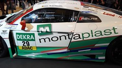 Montaplast by Land Motorsport Audi R8 LMS GT3 side (sausius) Tags: montaplast by land motorsport audi r8 lms gt3 side essen motor show 2014