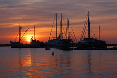 Morning Hues (Damian Gadal) Tags: santabarbara harbor nautical sunrise silhouette