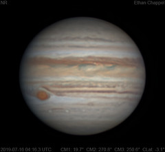 Jupiter | 2019-07-16 4:16 | RGB (Chappel Astro) Tags: jupiter planet space astronomy astrophotography celestron zwo