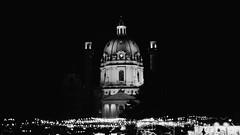 Christmas market at Karlsplatz - Karlskirche, Vienna
