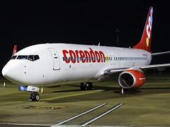 Corendon Dutch Airlines | Boeing 737-804(WL) | PH-CDF (Bradley's Aviation Photography) Tags: egsh nwi norwich norwichairport norfolk canon70d boeing b738 737 avgeek aviation plane flying jet night nightphoto corendondutchairlines boeing737804wl phcdf corendon