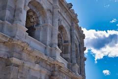 Arena, Nimes (AWe63) Tags: arena amphitheater theater roman römer römischeruinen antik nimes provence france frankreich südfrankreich pentax pentaxk1mkii luminar4 luminar madewithluminar andreasweyermann cawe63