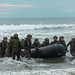 Japan Ground Self-Defense Force soldiers recover their combat rubber raiding craft during Exercise Iron Fist 2020