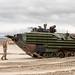 Prepares an assault amphibious vehicle for beach landing training during Exercise Iron Fist 2020