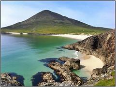 Hebridean Haven! (john.methven) Tags: photostream northton harris hebrides island beach sand sea seascape coast coastline beauty quiet deserted calm green hill bay coastal rocks rocky turquoise blue