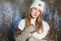 Photo of Jessica - Winter fashion shoot