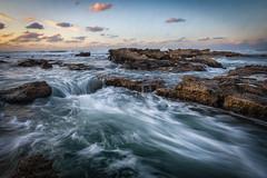 The Flow (Sebastian Witkin) Tags: nachsholim longexposure lanscape beach sunset travel nature israel waves sea