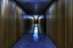 Golden corridor (urban requiem) Tags: tchernobyl chornobyl chernobyl nuclear power plant powerplant centrale nucléaire couloir corridor golden goldencorridor