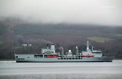 RFA Fort Victoria (Zak355) Tags: rothesay isleofbute bute scotland scottish naval rfafortvictoria navy ship shipping boat vessel royalnavy royalfleetauxiliary lochstriven riverclyde