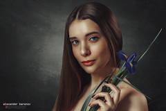Nastya. Studio portrait (alexanderbaranov1) Tags: portrait female woman young beautyful studio glamour beauty fashion looking eyes