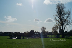 East Wickham open space (Burning Details) Tags: park play area tree green landscape sunlight sky clouds