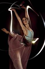 L1008415_David Keyes 2 (davidkeyes001) Tags: ballet dancer flashlight light trails