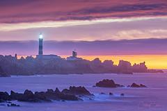 Fin de journée à la pointe du Créac'h (cedric.cain29) Tags: cedriccaïn ouessant îledouessant iroise bretagne finistère phare lighthouse phareducreach lumièresdouessant rochers paysages bzh sunset coucherdesoleil longexposure