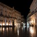 Piazza Duomo (Cathedral Place) in Ortygia,Syracuse, Sicily, Italy.
