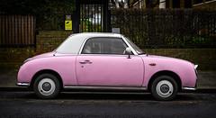 Nissan Figaro (Ian Rosenthal) Tags: car london figaro nissan