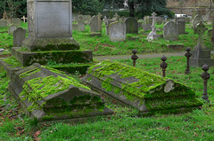 Brompton Cemetery (LondonerJK) Tags: brompton cemetery graveyard burialground old magnificent seven cemeteries london uk united kingdom great britain memorial monument abandoned derelict forgotten final resting place grave tomb gravestone architecture headstone burial ground