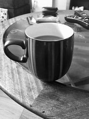 Morning Coffee (lazy south's travels) Tags: coffee cup bw blackandwhite mono