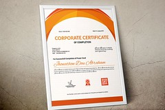 Certificate of Completion (11) (designassistant) Tags: diplomas diplomasandcertificates employee event formalcertificates freephotoshopcertificates gold graduation office performance performer professionalcertificates certificatedesign achievement appraisal award awards business certificates certificate certifications corporate corporatecertificates diploma psdcertificates retire rewards royal salary success white medical medicalcertificate resumedesign modern creativecertificate uniquecertificate
