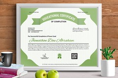 Certificate of Completion (4) (designassistant) Tags: diplomas diplomasandcertificates employee event formalcertificates freephotoshopcertificates gold graduation office performance performer professionalcertificates certificatedesign achievement appraisal award awards business certificates certificate certifications corporate corporatecertificates diploma psdcertificates retire rewards royal salary success white medical medicalcertificate resumedesign modern creativecertificate uniquecertificate