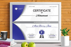 Certificate of Achievement (9) (designassistant) Tags: diplomas diplomasandcertificates employee event formalcertificates freephotoshopcertificates gold graduation office performance performer professionalcertificates certificatedesign achievement appraisal award awards business certificates certificate certifications corporate corporatecertificates diploma psdcertificates retire rewards royal salary success white medical medicalcertificate resumedesign modern creativecertificate uniquecertificate