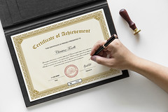 Certificate of Achievement  degree (designassistant) Tags: diplomas diplomasandcertificates employee event formalcertificates freephotoshopcertificates gold graduation office performance performer professionalcertificates certificatedesign achievement appraisal award awards business certificates certificate certifications corporate corporatecertificates diploma psdcertificates retire rewards royal salary success white medical medicalcertificate resumedesign modern creativecertificate uniquecertificate