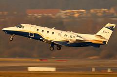 OK-XLS (GH@BHD) Tags: okxls cessna c560 c560xl citation citationexcel cessnac560xlcitationexcelxls silesiaair zurichairport zrh lszh zurich kloten bizjet corporate executive aircraft aviation
