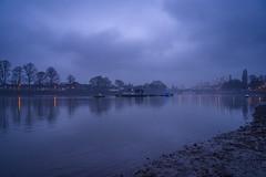Calm evenings (Arron Strutt) Tags: strandonthegreen brentford reflection landscape chiswick water mood sky