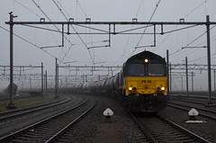 20.01.2020 (V, slot); Op stap met een oude bekende (chriswesterduin) Tags: rrf railfeeding class66 emd trein zug train goederentrein güterzug cargo