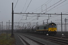 20.01.2020 (IV); Op stap met een oude bekende (chriswesterduin) Tags: rrf railfeeding class66 emd trein zug train goederentrein güterzug cargo
