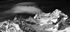Plume (Alpine Light & Structure) Tags: switzerland schweiz suisse snow alps alpen alpes zermatt obergabelhorn clouds