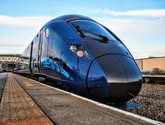 802303 @ Selby (A J transport) Tags: class802 diesel eletric bimode 802303 hulltrains railway station platform selby england railways trains nikkon d5300 dlsr