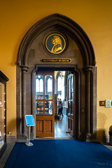 Hunterian Museum (Jocey K) Tags: door uk detail june scotland staircase ornate universityofglasgow thehunterianmuseum tripukeroupe2019 people signs sign words interior drwilliamhunter