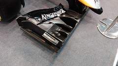 Force India VJM09 front wing (sausius) Tags: force india vjm09 front wing essen motor show 2014