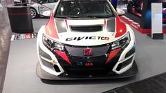 Honda Civic TCR front (sausius) Tags: honda civic tcr front essen motor show 2014