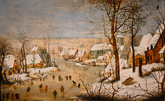 Pieter Brueghel the Younger - Winter Landscape with Skaters and Bird Trap, 1600 at  Muzeum Narodowe we Wrocławiu - Wroclaw Poland (mbell1975) Tags: wroclaw lowersilesian poland winter landscape with brueghel pieter younger bird skaters we 1600 trap muzeum narodowe wrocławiu museum painting gallery museu fine arts musée musee national museo galleria museet finearts beaux beauxarts wrocław müze gallerie breslau musum vratislav dutch golden grand age masters flemish