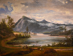 Johann Christian Dahl - View of Walchensee, 1831 at Muzeum Narodowe we Wrocławiu - Wroclaw Poland (mbell1975) Tags: wroclaw lowersilesian poland johann christian dahl view walchensee 1831 muzeum narodowe we wrocławiu breslau wrocław vratislav national museum museo musée musee museu musum müze museet finearts fine arts gallery gallerie beauxarts beaux galleria painting dutch flemish golden age grand masters