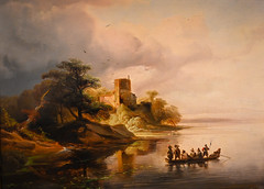 Caspar Scheuren - Rhine Landscape with a Castle and Boat, 1846 at Muzeum Narodowe we Wrocławiu - Wroclaw Poland (mbell1975) Tags: wroclaw lowersilesian poland caspar scheuren rhine landscape with castle boat 1846 muzeum narodowe we wrocławiu breslau wrocław vratislav national museum museo musée musee museu musum müze museet finearts fine arts gallery gallerie beauxarts beaux galleria painting german