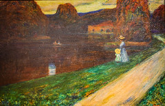 Wassily Kandinsky - Evening, 1903 at Muzeum Narodowe we Wrocławiu - Wroclaw Poland (mbell1975) Tags: wroclaw lowersilesian poland wassily kandinsky evening 1903 muzeum narodowe we wrocławiu breslau wrocław vratislav national museum museo musée musee museu musum müze museet finearts fine arts gallery gallerie beauxarts beaux galleria painting russian expression expressionist expressionism