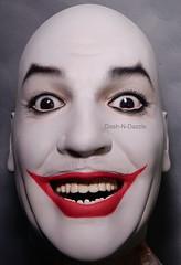 Cesar Romero Joker (dashndazzle) Tags: dashndazzle mannequin makeup joker batman 66 cesar romero
